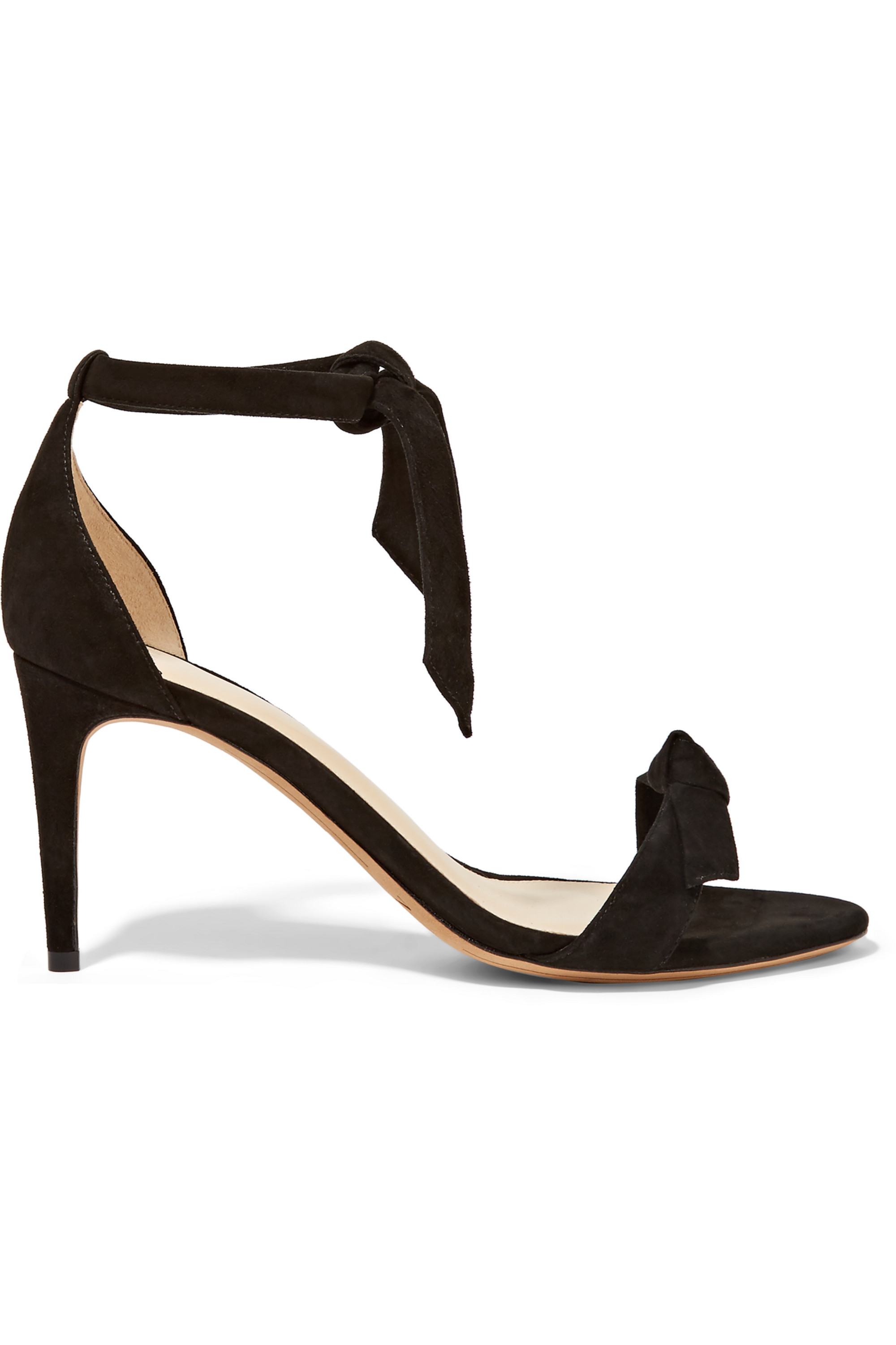 Alexandre Birman Patty bow-embellished suede sandals