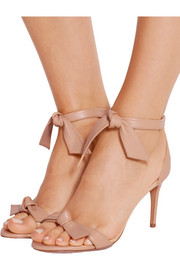 Alexandre Birman Patty bow-embellished leather sandals