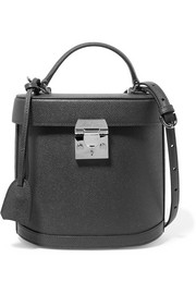 Benchley textured-leather shoulder bag