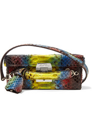 Grace small python shoulder bag