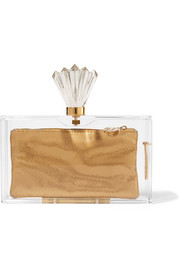 Decorative Pandora Perspex clutch