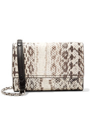 Yasmeen small elaphe shoulder bag