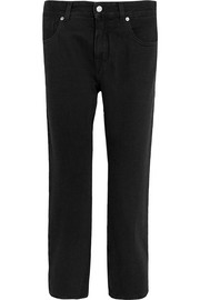 MM6 Maison Margiela Cropped mid-rise straight-leg jeans