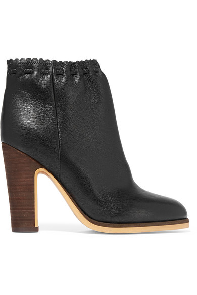 free shipping the cheapest cheap sale low shipping See by Chloé Leather Ankle Boots pick a best sale online p2XjxiKqB