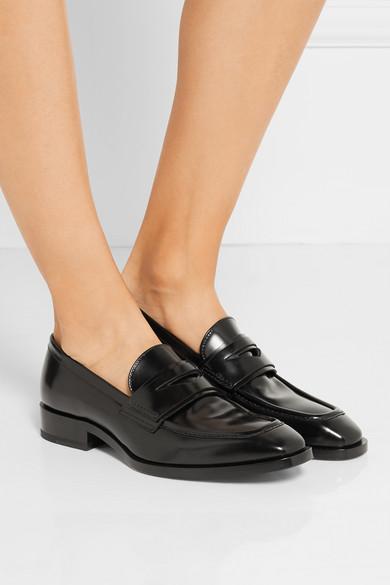 Jil Sander Leatehr loafers