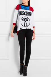Moschino Oversized intarsia wool sweater