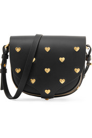 Sophie Hulme Barnsbury mini embellished leather shoulder bag