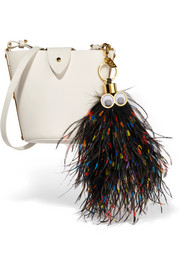Sophie Hulme George feather keychain
