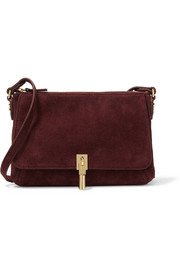 Cynnie suede shoulder bag