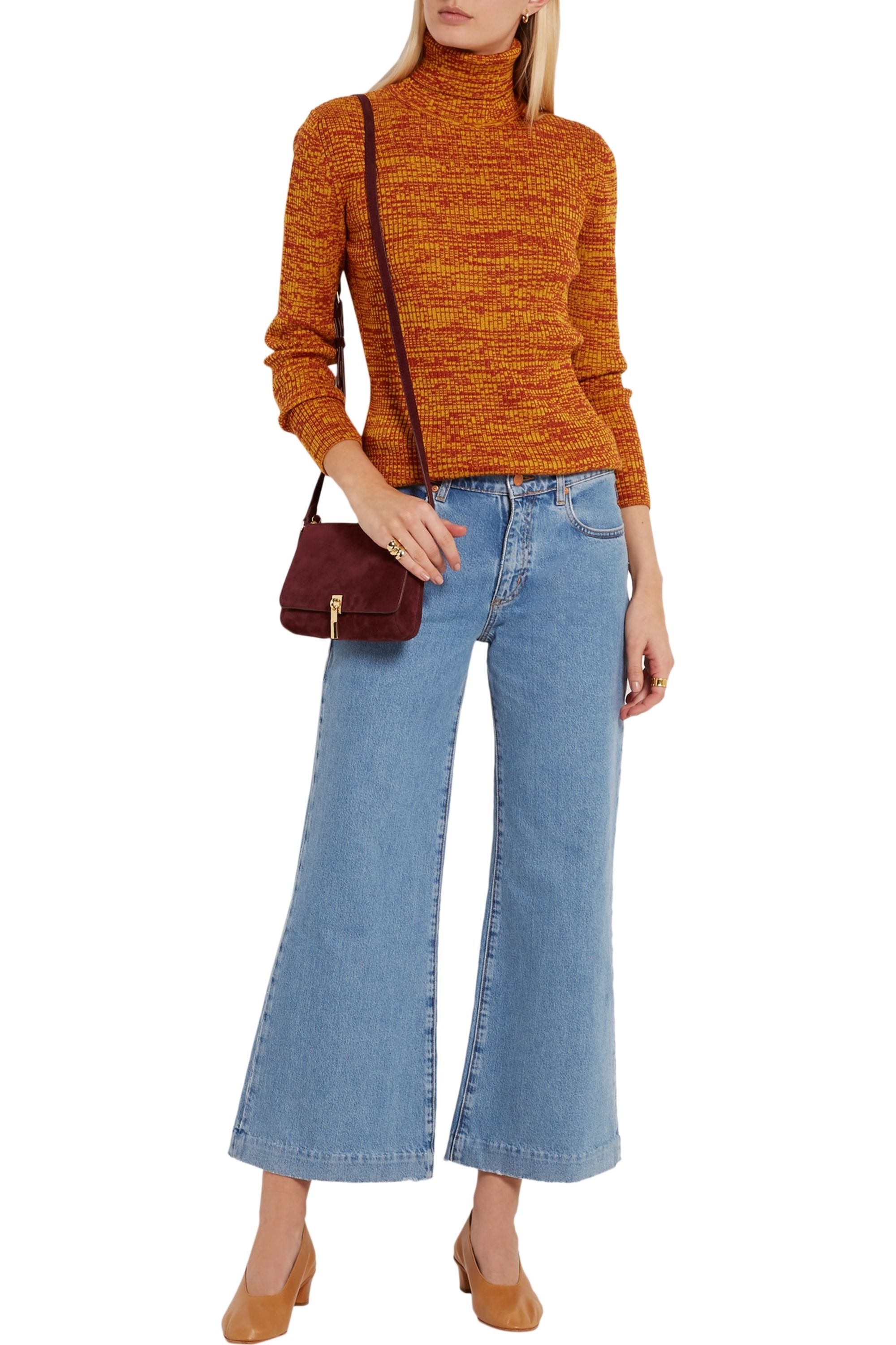 Elizabeth and James Cynnie suede shoulder bag