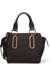 Paige small nubuck shoulder bag
