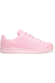 Stan Smith textured-knit sneakers