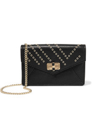 Diane von Furstenberg 440 Gallery Bitsy embellished leather shoulder bag