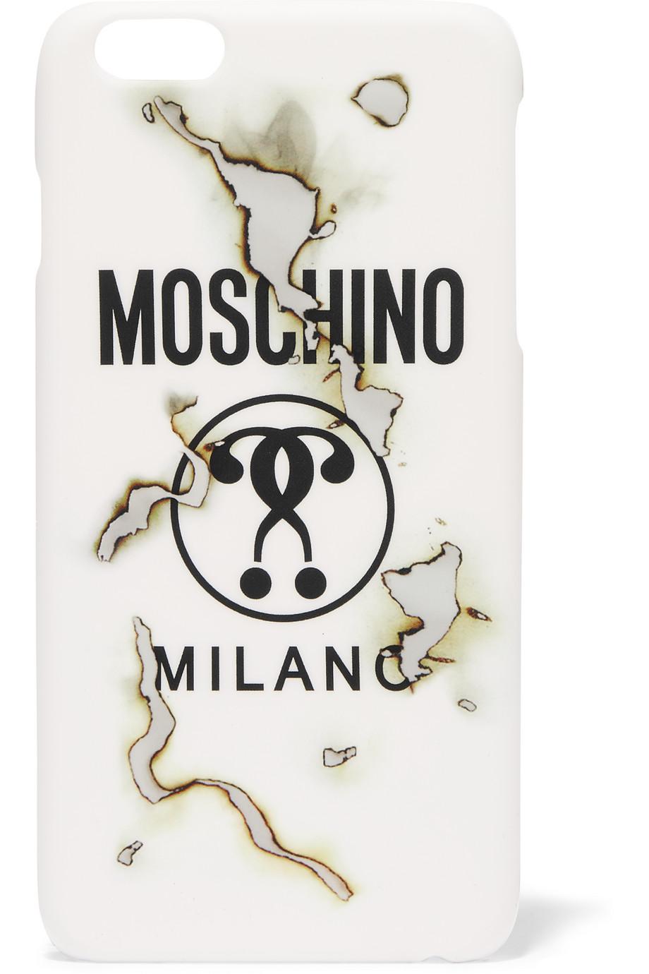 Moschino Printed Acrylic Iphone 6+ Case