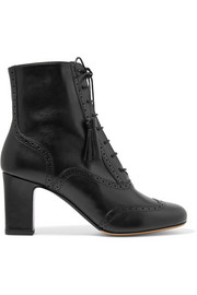 Afton leather ankle boots