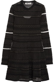 McQ Alexander McQueen Knitted mini dress