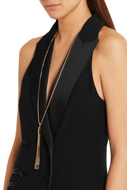 Eddie Borgo Neo tasseled gold-plated necklace