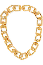 Fame gold-plated necklace