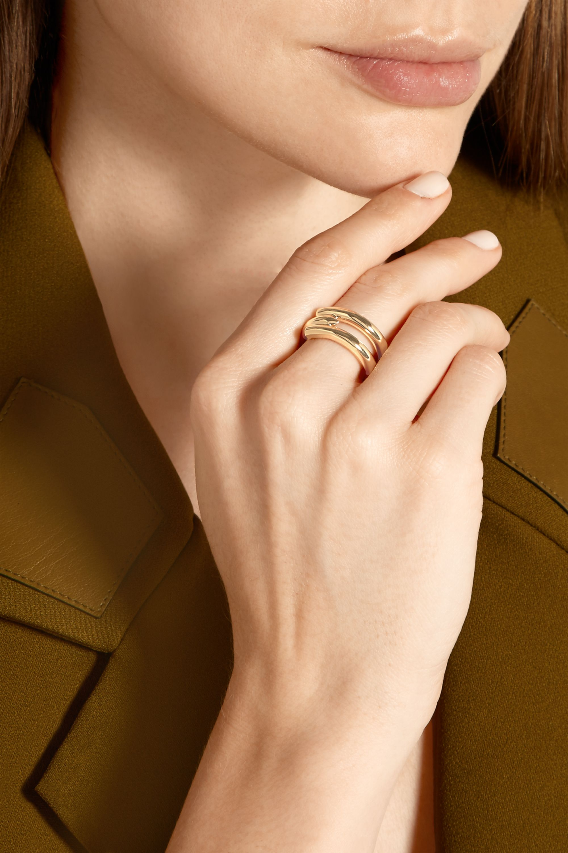 Eddie Borgo Idle gold-plated ring