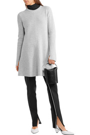 Proenza Schouler Ribbed wool and cashmere-blend mini dress