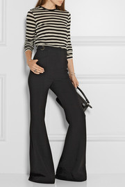Proenza Schouler Striped slub cotton-jersey top