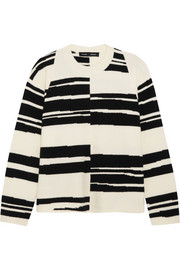 Proenza Schouler Striped stretch wool-blend sweater