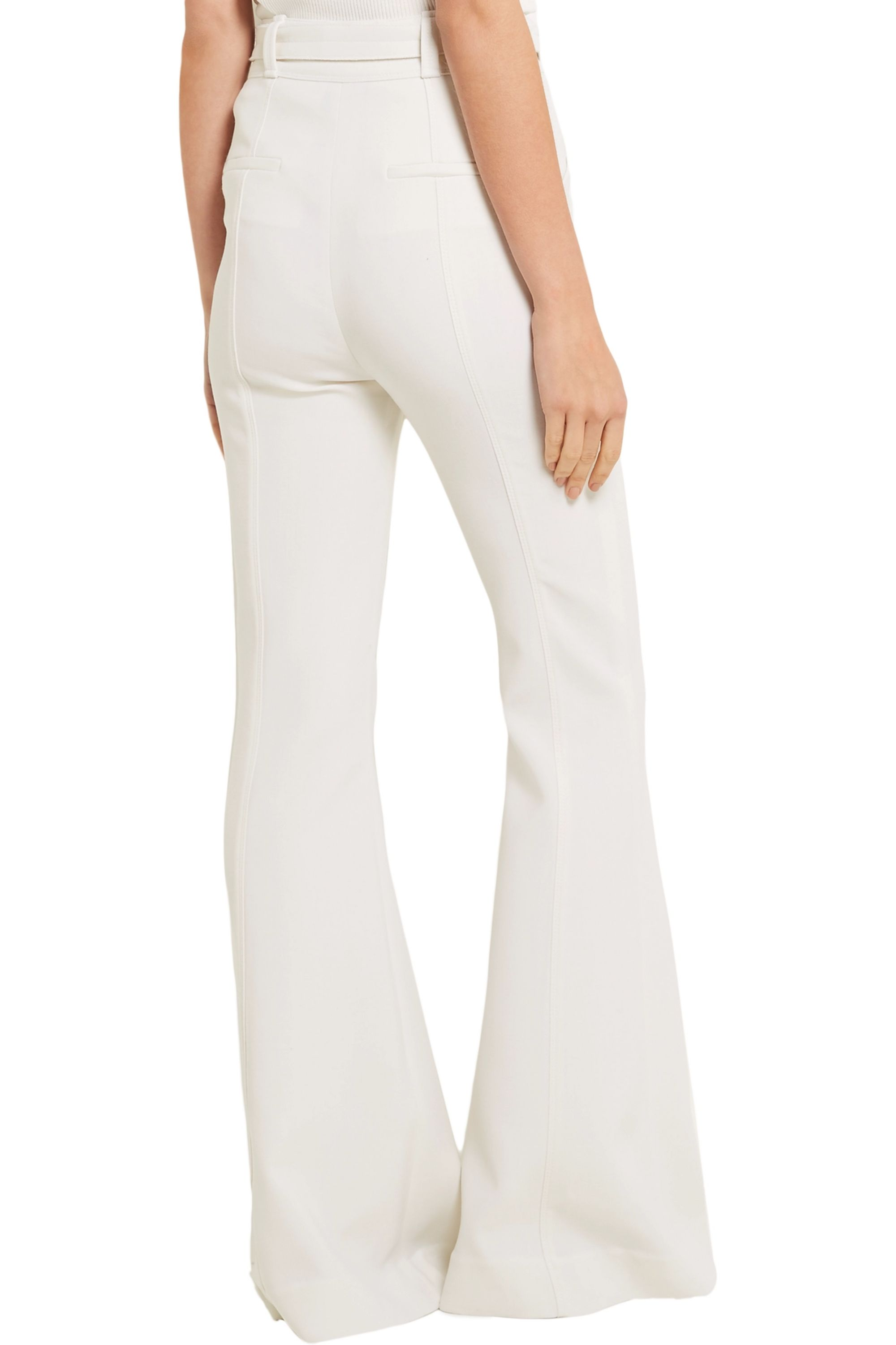 Proenza Schouler Stretch-wool flared pants
