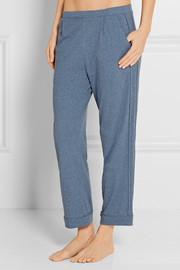 Shania Pima cotton-jersey pajama pants