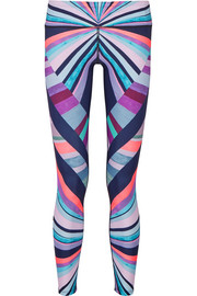 Mara Hoffman Printed stretch-jersey leggings