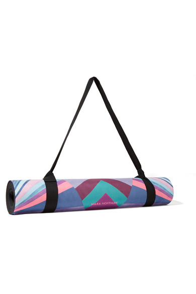 Mara Hoffman Tapis De Yoga Imprime Net A Porter Com