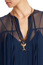 Kraig gold-plated necklace