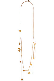 Keira gold-plated necklace