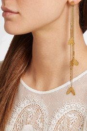 Chloé Keira gold-plated charm earrings