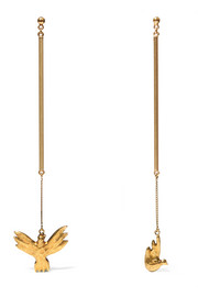 Chloé Kraig gold-plated earrings