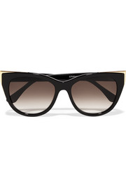 Thierry Lasry Epiphany cat-eye acetate and metal sunglasses