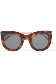Illesteva Boca cat-eye acetate sunglasses