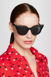 Illesteva Emmanuelle cat-eye acetate sunglasses