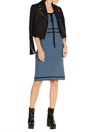 Marc Jacobs Striped ribbed cotton dress