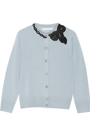 Marc Jacobs Sequin-embellished wool cardigan
