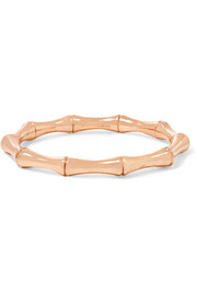 18-karat rose gold small bamboo bracelet