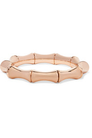 18-karat rose gold bamboo bangle