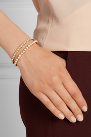 Marc Jacobs Gold-plated faux pearl cuff