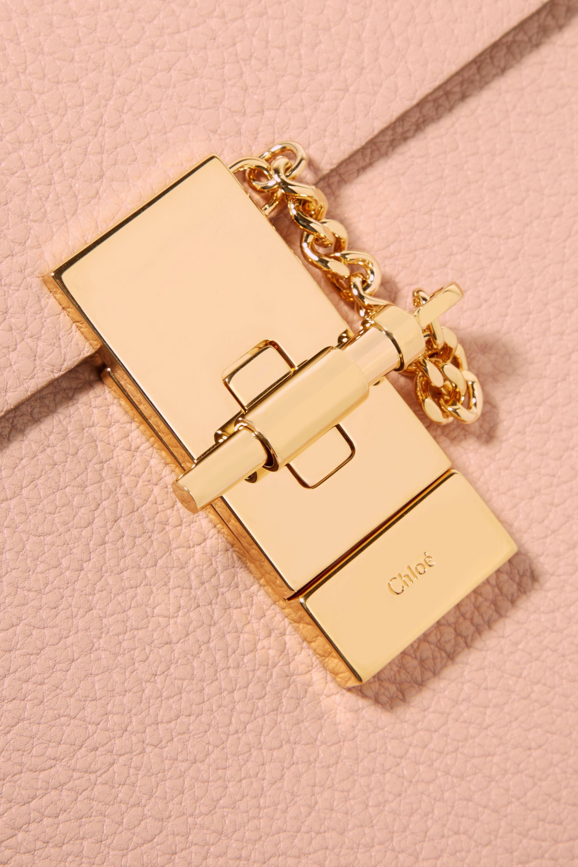 Chloé Sac porté épaule en cuir texturé Drew Mini