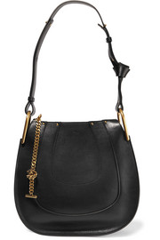Hayley small leather shoulder bag