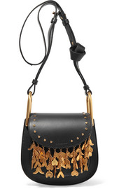 Chloé Hudson mini embellished leather shoulder bag