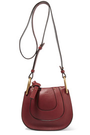 Chloé Hayley nano textured-leather shoulder bag