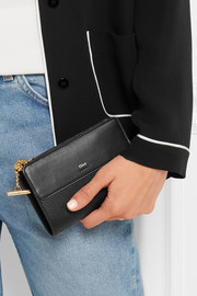 Chloé Jo textured-leather wallet