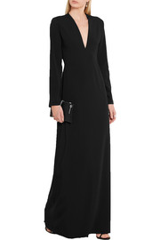 Calvin Klein Collection Stretch-crepe gown