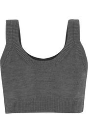 Calvin Klein Collection Baptista cropped wool top