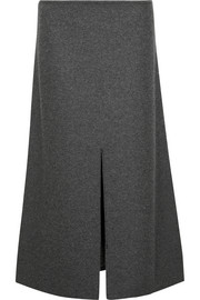 Calvin Klein Collection Hova wool-blend felt midi skirt